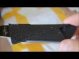 Нож-кредитка и портфель для девушки с Алиэкспресс