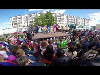 "дети Центра ""Творчество"" подарили праздник жителям Войновки"