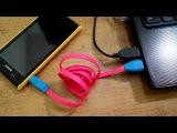 Светящийся кабель iPhone 4/5/microUSB mobimag.com.ua
